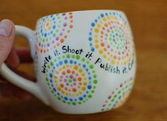 geek dottery mug  Joss Whedon quote by bethanyactually on Etsy, $16.00 #VeryWhedonChristmas