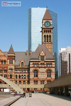 Toronto's Old City Hall was home to its city council from 1899 to 1966 and was designated a National Historic Site of Canada in 1984   by Nino H, via Flickr