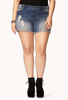 Rock On Cut Offs | FOREVER21 PLUS - 2062050841