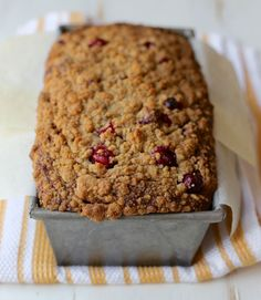 Author Joy Wilson includes browned butter in this brown butter cranberry banana bread recipe for a nuttier and richer taste.