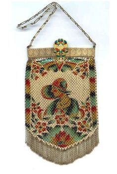 Gorgeous 1920's Beaded bag