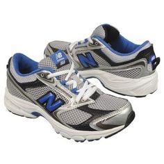 New Balance The 553 Pre/Grd Shoes (Silver/Blue) - Kids' Shoes - 5.0 W