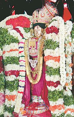 Temple Gardens, Lord Vishnu, Traditional Art, Mother Earth, Mythology, Religion, Indian, God, Painting