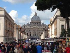 Piazza San Pietro Rome