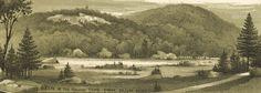 1888 Bird's-Eye View of Gettysburg | Gettysburg Daily