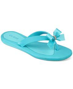e3d4521802a985 GUESS Women s Tutu Sandals Shoes - Sandals   Flip Flops - Macy s
