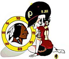 cowboy peeing on redskins helmet cartoon