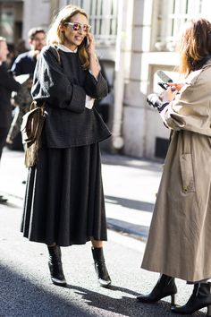 Paris Fashion Week, Street Style #streetstyle #streetfashion #fashion