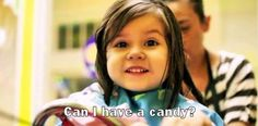 Can Eli has a candy?