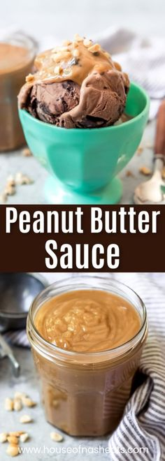 Calling all peanut butter lovers! All you need are a handful of pantry ingredients to make this easy Peanut Butter Ice Cream Topping that is the perfect sauce for drizzling over ice cream, pancakes, brownies, or used for dipping fruit. Peanut Butter Pancakes, Peanut Butter Sauce, Peanut Butter Ice Cream, Best Peanut Butter, Homemade Peanut Butter, Peanut Butter Recipes, Homemade Ice Cream, Fudge Recipes, Chocolate Peanut Butter