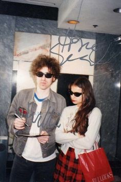 Hope Sandoval (Mazzy Star) & William Reid (The Jesus and Mary Chain)