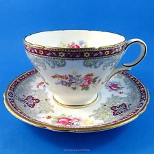 Striking Georgian Shelley Tea Cup and Saucer Set