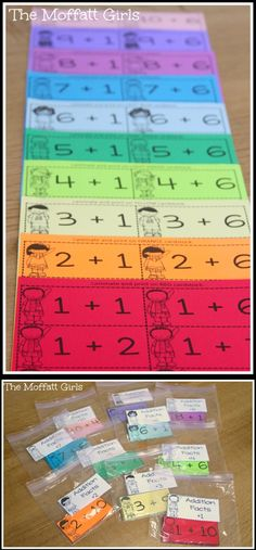 Print your flash cards on colored paper to help with differentiated instruction!