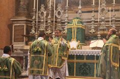 Transalpine Redemptorists at home: The First solemn Mass of Fr Yousef Marie, F.SS.R.
