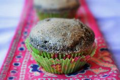 Blue Corn Muffins with Green Chiles |Gluten-Free Goddess® Recipes