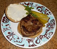 Shawna's Food and Recipe Blog: 1860's Style Hamburg Steak with Russian Mustard and Amish Country Limburger Cheese