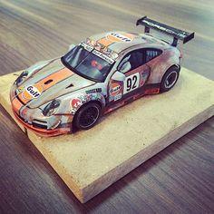 """""""The ratlook, rutten ZombiePorsche is ready to race! #ratlook #gulfporsche…"""