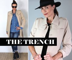 Your New Wardrobe Essential - The Trench - The Style Insider New Wardrobe, Trench, Essentials, Denim, News, Jackets, Style, Fashion, Down Jackets