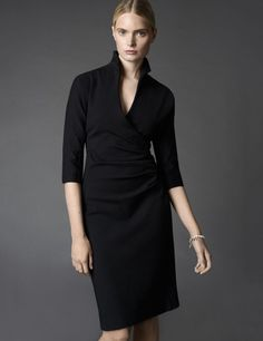 Black WINSER LONDON Miracle dress