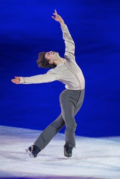 Stephane Lambiel at Art on Ice in Zurich 2014