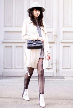 Ankle boots black & white - Zwart & wit enkellaarsjes