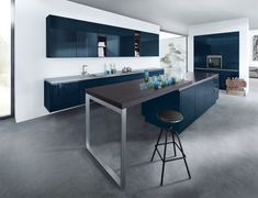 The designer Indigo Blue High Gloss kitchen is perfect for all lifestyles. Why not visit our Bromley showroom and see our kitchens for yourself. We will design your kitchen with creative flair to suit your personality and needs.