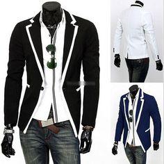 Hot-Men-s-Casual-Slim-Suit-Men-Fashion-Suit-Cool-Male-Clothing-3-Colors-M-XXL.jpg (494×494)