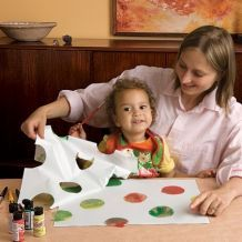 Create   Spoonful  Crafting for kids. Many ideas.
