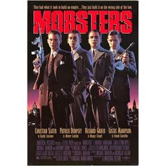 Lucky: I've learned. Every organization needs somebody standing out front. Call it a figurehead, a leader, a headman, a kingpin, a president, whatever. It doesn't much matter to me who does it. #Mobsters [1991] #Viewsrule