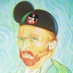 Mickey Van Gogh!
