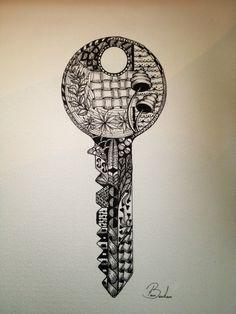 Zentangle/zendoodle key