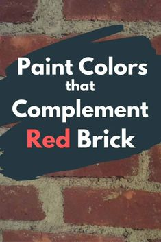 10 Exterior Paint Colors for Brick Homes -Find the best paint colors to match to your red brick exterior. Looking for exterior paint color ideas that go with brick homes? These 10 amazing exterior paint colors will complement a brick home perfectly. Outdoor Paint Colors, Front Door Paint Colors, Best Paint Colors, Exterior Paint Colors For House, Painted Front Doors, Paint Colors For Home, Paint Colours, Exterior Paint Ideas, Tudor Exterior Paint