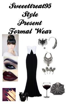 """Formal Wear!"" by sweeettreat95 on Polyvore featuring STELLA McCARTNEY, Kat Von D, DYLANLEX, Steve Madden and Bernard Delettrez"