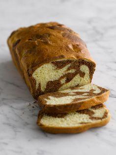 Marbled Chocolate Brioche Loaf — Nick Malgieri