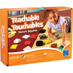 Teachable Touchables Texture Squares | Special Needs Toys | Child Therapy Toys | Autism Toys