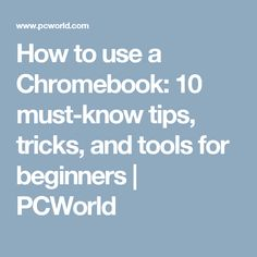 tools editing images chromebook pcworld