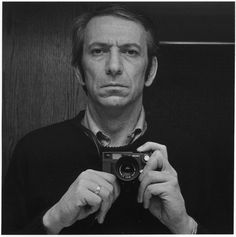 Charles Gagnon, Autoportrait with Leica, circa 1973 Contemporary Abstract Art, Leica, Artist, Self Portraits, Artists