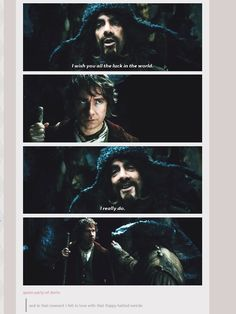 So accurate. Bofur is awesome.