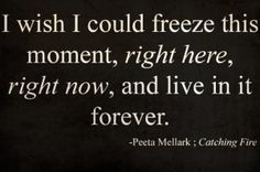 the hunger games quote <3 by hallie