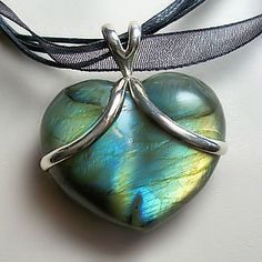 Labradorite Heart of Creative Light ~ Only 2 Left! - pagan wiccan witchcraft magick ritual supplies