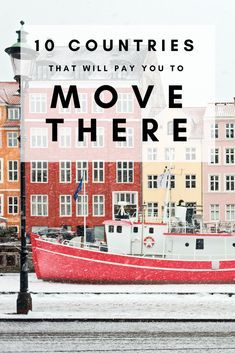 Whether you dream of living in Europe's chic cities or living the tropical dream in Southeast Asia, here are ten countries that will pay you to take the leap and move abroad! Travel Abroad, Asia Travel, Travel Usa, Travel Chic, Work Overseas, Moving Overseas, Travel Jobs, Travel Advice, Travel Ideas