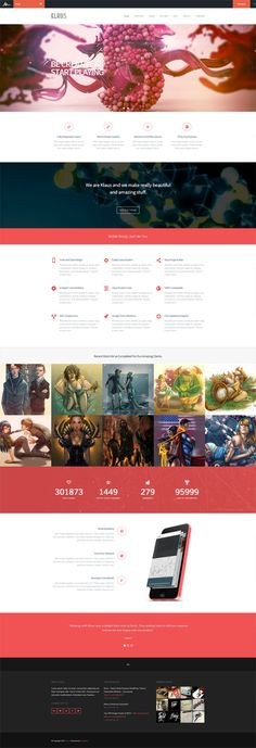 Klaus - WordPress Theme