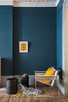 farrow and ball hague blue - Wandfarbe