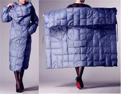 Идея - квадратный крой куртки