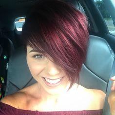 #pixie #violet #redviolet #shorthair #undercut #nothingbutpixies