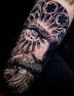 Realistic Tattoos with Morphing Effects by Benji Roketlauncha coole Doppelbelichtung Tattoo © Tätowierer Benji_Roketlauncha ? Tattoo Henna, 3d Tattoos, Badass Tattoos, Great Tattoos, Unique Tattoos, Arm Tattoo, Body Art Tattoos, Tattoos For Guys, Sleeve Tattoos