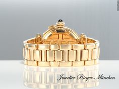 Cartier PASHA 35 mm GELBGOLD 750 MEDIUM AUTOMATIK Gold