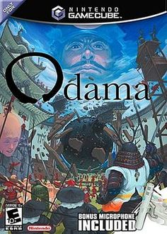 Odama is one of the most odd, interesting video games ever. We just did a review of it on the show, and I must say that although it is no Seaman, it is still pretty cool. Just look at that large head on the left of the cartridge. Masterful!