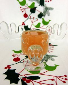 Jolly Juice - Christmas morning cocktails12 oz can of frozen concentrated orange juice, thawed    2 cups of cranberry juice  1 bottle of champagne