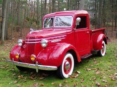 1937 Mack Jr pick up American Pickup Trucks, Vintage Pickup Trucks, Antique Trucks, Vintage Cars, Antique Cars, Small Trucks, New Trucks, Chevy Trucks, Classic Trucks